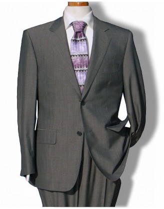 Daniele MENS SUIT MEDIUM GRAY MELANGE 150S WOOL
