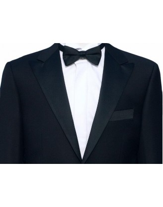 Daniele Tuxedo Mens 150S Wool 1 Button Peak Lapel