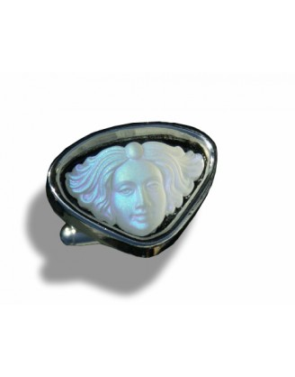 SALE !CUFFLINKS by DANIEL DOLCE~SILVER MEDUSA HEAD