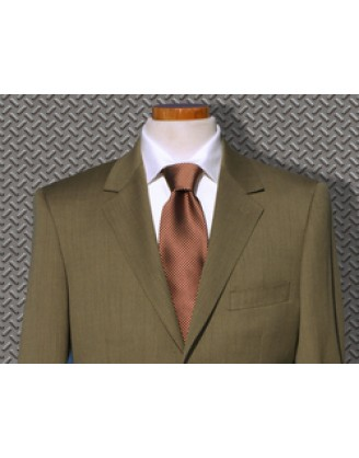 Daniele HIGH LINE Tan Mini-Birdseye Mens Suit SLIM Althetic Cut